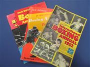 Sale 8419A - Lot 81 - Boxing News - a box containing bound volumes of Boxing News 1956-1959, plus magazines