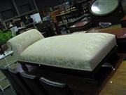 Sale 7937A - Lot 1101 - Empire Style Chaise on Carved Timber Feet