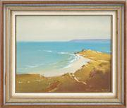 Sale 8433 - Lot 2005 - Graham Cox (1941 - ) - Summer on the Coast 19 x 24cm