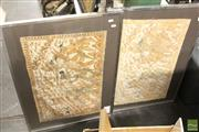 Sale 8468 - Lot 2051 - Pair of Batiks, frame size: 50.5 x 83cm, each
