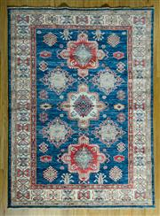 Sale 8700C - Lot 60 - Afghan Super Kazak 198cm x 150cm