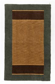 Sale 8770C - Lot 103 - A Striped Afghan Chobi Naturally Dyed In Hand Spun Wool, Very Suitable To Australian Interiors, 249 x 149cm