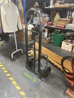 Sale 9101 - Lot 2096 - New 350kg heavy duty tip trolley with plastic protector guards