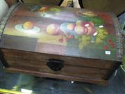Sale 7972A - Lot 1040 - Painted Timber Chest