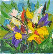 Sale 8271A - Lot 4 - Kevin Charles (Pro) Hart (1928 - 2006) - Spring Bunch 15.5 x 15cm
