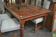 Sale 8406 - Lot 1149 - Pine Dining Table