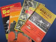 Sale 8419A - Lot 82 - Final Box - a box of packed full of boxing books