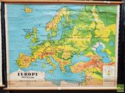 Sale 8493 - Lot 1096 - Chas. H. Scally Educational Map of Europe