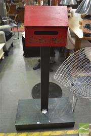 Sale 8406 - Lot 1197 - Santas Mail Box