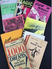 Sale 8539M - Lot 179 - 11 Vols., including Success: The Meaning of Over 1000 Dreams and Tea-Cup Readings; The Wicked Uncle by Rex the Magician; How to...