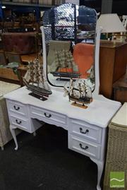 Sale 8532 - Lot 1295 - Painted Mirrored Back Dresser