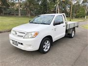 Sale 8576V - Lot 9 - 2008 Toyota Hilux Work Mate Utility                                         Reg: BHT 44V...