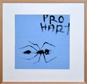 Sale 8271A - Lot 5 - Kevin Charles (Pro) Hart (1928 - 2006) - Bull Ant 43 x 43cm