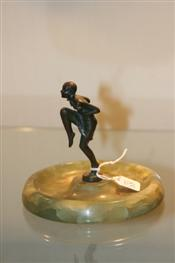 Sale 7877 - Lot 85 - Bruno Zach Attributed Bronze Figure of a Dancer