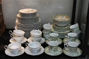 Sale 8269 - Lot 99 - Hutschenreuther Sylvia Magnolia Dinner Service & Royal Staffordshire Avondale Dinner Service