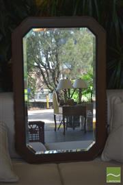 Sale 8331 - Lot 1304 - Maple Framed Mirror