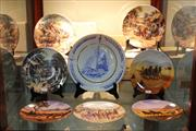 Sale 8360 - Lot 119 - Wedgwood Cabinet Plates with Others Incl Bendigo