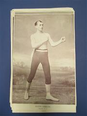 Sale 8419A - Lot 2 - Bare Knuckle Boxers - 28 boxing portraits from the NPG, all 1890s, cut to size, several duplicates