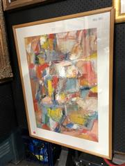 Sale 8779 - Lot 2011 - Tony Tozer - Seeing Things, oil on paper, frame size: 96 x 71.5cm