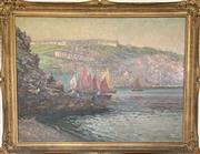Sale 9044J - Lot 41 - Charles Bryant - Sailing 73x99cm,