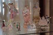 Sale 8024 - Lot 79 - Collection of Figural Ornaments incl Dresden