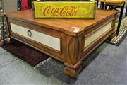 Sale 8099 - Lot 857 - Timber Occasional Table w Single Drawer