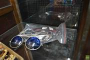 Sale 8214 - Lot 2380 - FOUR PAIRS OF VINTAGE SUNGLASSES; 2 x Polaroid red with pop out lenses 6802, and silver and white frames 6301, plus 2 metal framed w...