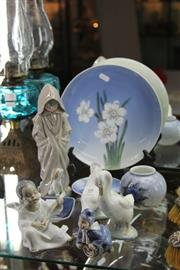 Sale 8269 - Lot 68 - Royal Copenhagen, Lladro & Nao Figures & Dishes