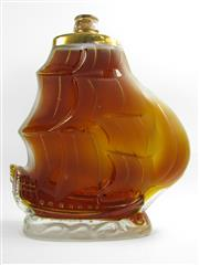 Sale 8278 - Lot 1773 - 1x Prunier Galleon Extra Cognac - in ship decanter bottle