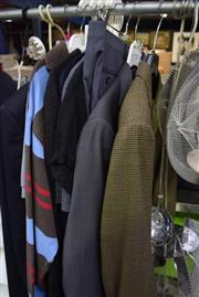 Sale 8346 - Lot 2097 - Collection Of Mens Clothing Incl cashmere Oscar De La renta and Ted Baker(12)