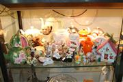 Sale 8379 - Lot 198 - Royal Albert Old Country Roses Teapot with Other Teapots & Ceramics incl. Novelty Salt & Peppers