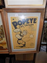Sale 8422T - Lot 2065 - Popeye Poster