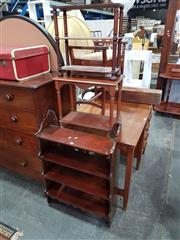 Sale 8740 - Lot 1155 - Collection of 3 Timber Shelves