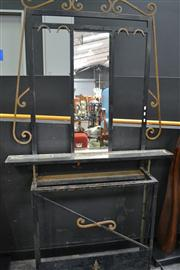 Sale 8058 - Lot 1003 - Wrought Iron Hall Stand