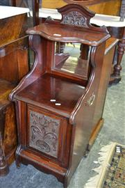 Sale 8093 - Lot 1767 - Edwardian Mahogany Pot Cupboard