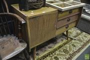 Sale 8347 - Lot 1042 - Small Timber Elevated Sideboard