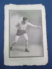 Sale 8450S - Lot 749 - NPG 1910 - 15 glossy supplements from the Police Gazette, 1910-1917