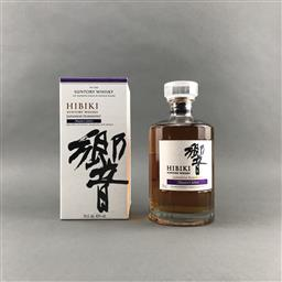 Sale 9120W - Lot 1422 - Hibiki 'Japanese Harmony - Master Select' Blended Japanese Whisky - 43% ABV, 700ml in box