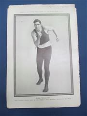 Sale 8450S - Lot 750 - Boxers 1911-1912 - 30 different glossy supplements from the NPG featuring Willard, McGorty and more!