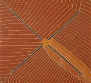 Sale 8538A - Lot 5049 - Kathleen Petyarre (1930 - ) - Untitled 131.5 x 120.5cm (stretched & ready to hang)