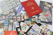 Sale 8477 - Lot 84 - Collection of World Stamps in Folders inc Post Cards