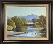 Sale 8795K - Lot 59 - Leonard Long oil on board