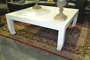 Sale 8227 - Lot 1016 - Oriental Style White Painted Coffee Table