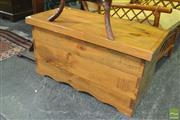 Sale 8312 - Lot 1056 - Pine Blanket Box