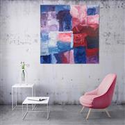 Sale 9043A - Lot 5035 - Kudditji Kngwarreye (c1928 - 2017) - My Country 143 x 141cm (stretched and ready to hang)