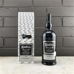 Sale 9079W - Lot 851 - Ardbeg Distillery Blaaack Islay Single Malt Scotch Whisky - Committee 20th Anniversary 2020 Limited Edition, 46% ABV, 700ml in box