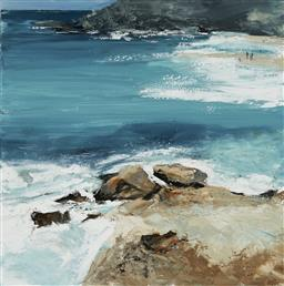 Sale 9170 - Lot 510 - CHERYL CUSICK Northern Beaches acrylic on canvas 101.5 x 101.5 cm signed lower right
