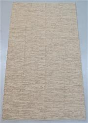 Sale 8438K - Lot 104 - Tallow Wood Woven Leather Rug | 300x250cm, Pure Leather, Handwoven Leather Flatweave RugHandcrafted using recycled leather and cott...