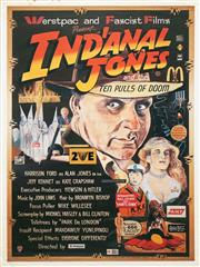 Sale 8658A - Lot 5029 - Werstpac and Fascist Films present: Indanal Jones and the 10 Pulls of Doom