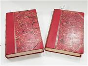 Sale 8822B - Lot 767 - Volumes 1 & 2 Henry, Lord Brougham Lives of Men of Letters & Science, who flourished in the time of George III, pub. C. Knight & C...